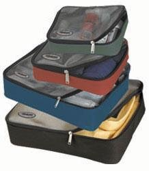 Athalon Packing Cubes – Set of 4 (Assorted), Bags Central