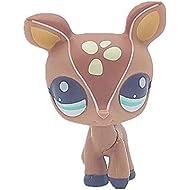 Cute Big Eye Pet Deer Collection Child Girl Boy Figure Toy