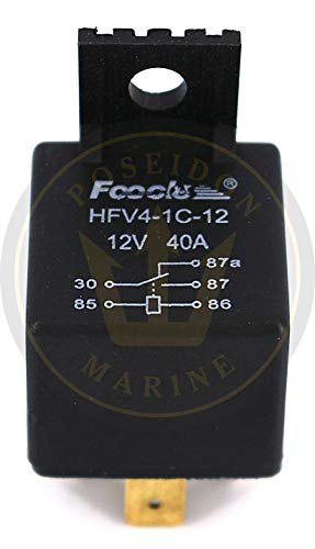 (Poseidon Marine Trim Relay for Volvo Penta RO : 876040 for Trim Motor 3586765 18-6266)