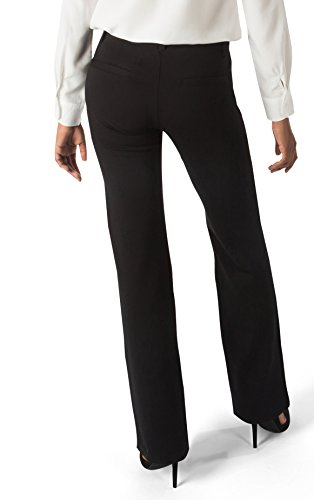 606dcd9fca Betabrand Women's Dress Pant Yoga Pants (Straight-Leg) M Black ...