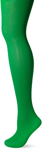 Green Costume Tights (Fever Women's Opaque Tights, Green, One Size,5020570953228)