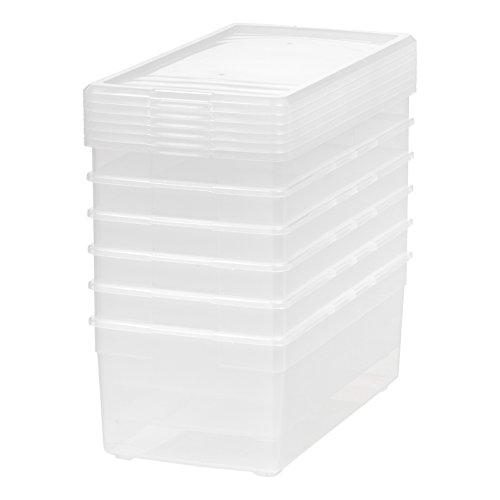 Ordinaire IRIS Media Storage Box, 6 Pack, ...