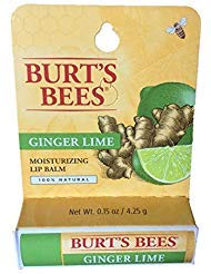 Burts Bees Ginger Lime Lip Balm (1 pack)