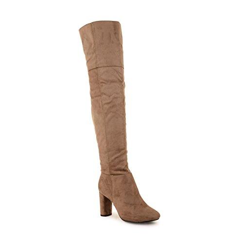 Footwear Sensation - Botas para mujer Beige - gris