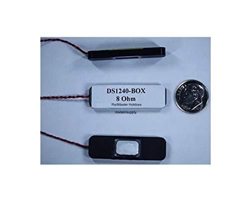 (RaiImaister Hobbies DS124O-BOX Speaker w/Enclosure 8 Ohm Train Railroads Kit Quick Arrive)