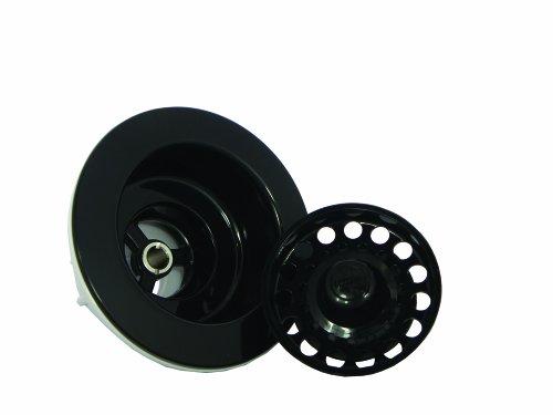 Opella 90066.06 Kitchen Sink Basket Strainer, Black