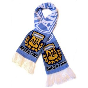 Argentina National Soccer Team | Fan Scarf | Premium Acrylic Knit ()