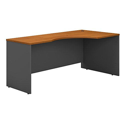 Bush Business Furniture Series C 72W Right Handed Corner Desk in Natural ()