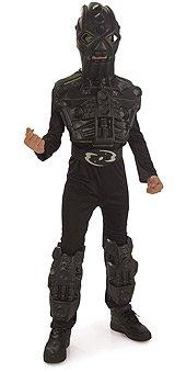 Bionicle Toa Whenua Hordika Black Costume Reduced