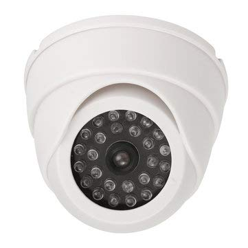 Amazon.com: Ir Led Detector - Dummy Security Cameras - 25 LED IR Color Night Video Dome Fake CCTV Camera Surveillan - White (Imitation Surveillance Camera): ...