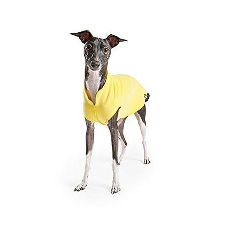 Oro Paw Stretch - Abrigo para perros (forro polar girasol amarillo/tamaño 18 by Gold Paw Series: Amazon.es: Productos para mascotas