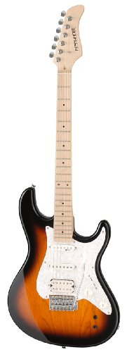 Fernandes Retrorocket Pro Electric Guitar - Tobacco Sunburst