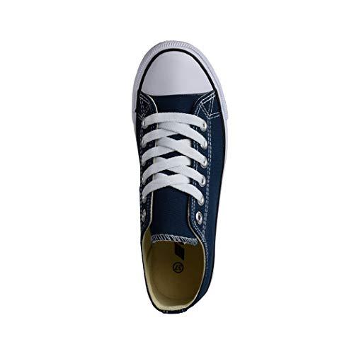 Mujer Azul Casa Zapatillas De Elara T1v8wq