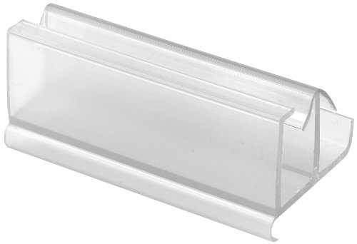 Door Glass Guide (Prime-Line Products M 6217 Shower Door Frameless Guide, Clear)