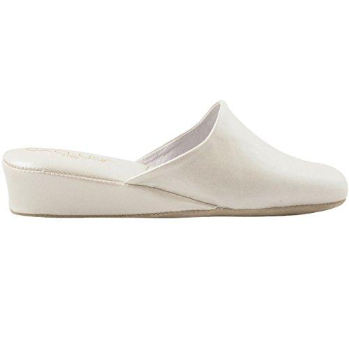 Pantofole Bianche Donna Da Paris Esclusivo ppqPSTw