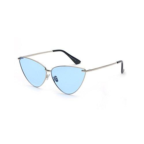 de Gato GRADIENTE Sol Marco UN la Burenqi Aleación Mujer de Sol Moda C Marca UV400 Hombre Diseñador Ojo de Gafas Nuevo de Gafas de de de SqqTpvw