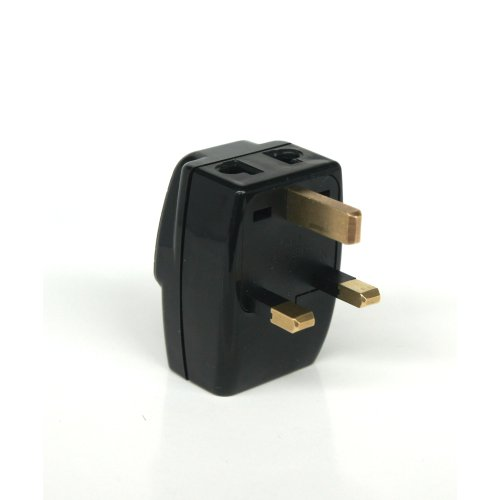 JEXON UK 3-In-1 Universal Travel Adapter Plug Type G Grounded - Great Britain, Hong Kong, Singapore & - Store Hongkong Outlet