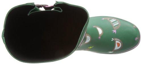 Evercreatures Womens Chicken Short Wellington Boots Green Print lKAiHip