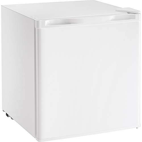 Kismile Compact Refrigerator, Portable Single Door Refrigerator, Home and Office, 1.62 cu ft, White