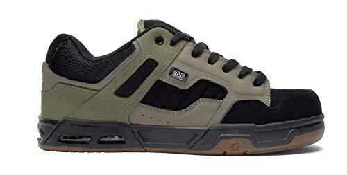 DVS Men's Enduro HEIR Skate Shoe (10 M US, Olive Black Gum)