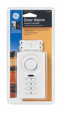GE SmartHome Keypad Controlled Door Alarm (GESEC59MA1) (Alarm Keypad Controlled)