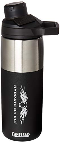 CamelBak Chute Mag Stainless Steel Insulated Bottle, 20oz, with HOD Logo ()