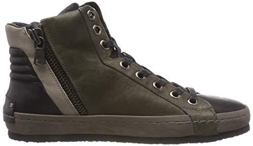 London Verde Crime verde Collo 083 11123aa1 Sneaker 83 Alto A Uomo 8S1ZqdS