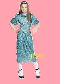 [Fun Shack Child Evacuee Dress Costume - Age 6 - 8 Yrs (m)] (World War 2 Evacuees Costumes)