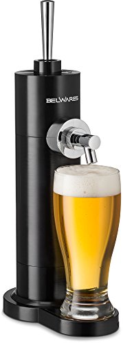 Portable Beer Dispenser, Beer Dispensing Equipment System for One Can to Draft a Good Pint, Works Perfect for 12oz Cans, Great Gift Idea (Home Dispenser Beer)