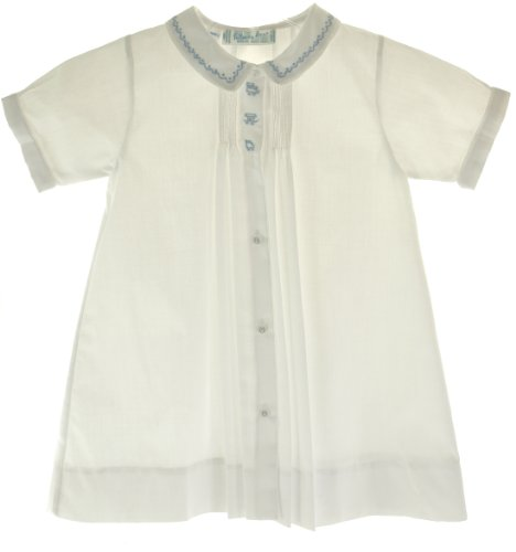 (Feltman Brothers Boys White Daygown with Train - Newborn )