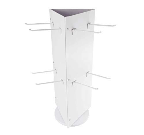 (FixtureDisplays Rotating Coutertop Socks Display Peg Display Counter Top Spinner)