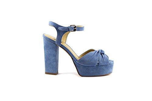 bibi lou Sandalias de Vestir Para Mujer azul celeste
