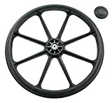 REAR WHEEL 24'' FOR Nova 5060S/5080S/5160/5180/5200/5165/5185/7000 SERIES WHEELCHAIR (SN: YU)