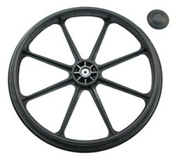 REAR WHEEL 24'' FOR Nova 5220S/5240S SERIES WHEELCHAIR (SN: YU)