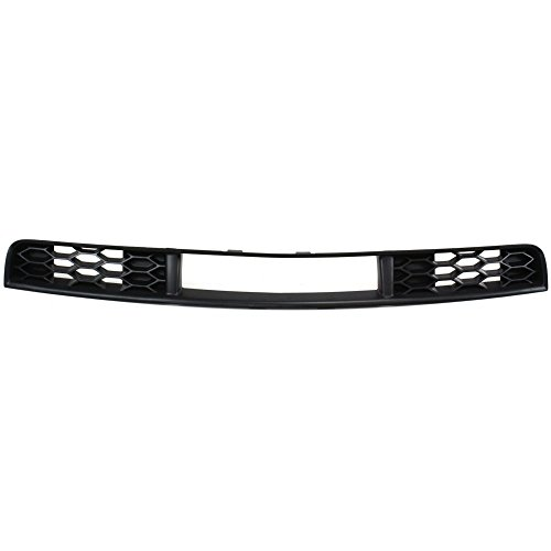 Bumper Grille compatible with ford Mustang 05-09 Front Textured Black (2007 Ford Mustang V6 Pony Package Review)