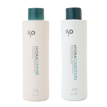 ISO Hydra Cleanse 33.8oz & Conditioner 33.8oz Duo-set by (Iso Hydra Condition)