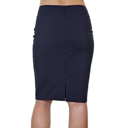 e5004a1b96 best ICE (2495-2) Office School Stretch Pencil Skirt 22