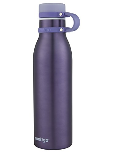 Contigo THERMALOCK Matterhorn Stainless Steel Water Bottle, 20 oz, Grapevine by Contigo (Image #1)