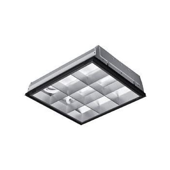 2x2 Lay-in 2 U Light 32W Parabolic Fixture: Close To Ceiling Light ...
