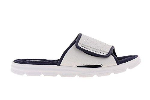 Skechers Sport Vento diapositive Swell Sandalo Bianco