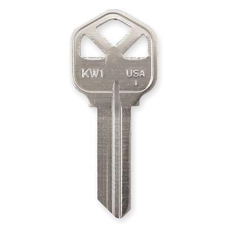 Key Blank, Nickel, Type 1176, 5 Pin, (Np Key Blanks)