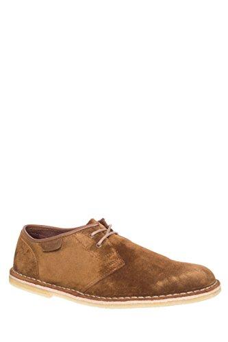 Clarks Men's Suede Jink Shoes, Cola, 11 D(M) US