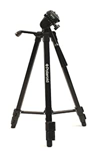 Polaroid 50-inch Photo / Video Travel Tripod Includes Deluxe Tripod Carrying Case For Digital Cameras & Camcorders