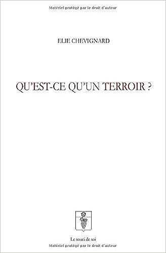 Amazon Fr Qu Est Ce Qu Un Terroir Elie Chevignard Livres