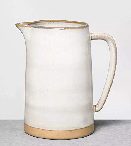 Hearth & Hand with Magnolia Stoneware Pitcher (Reactive Glaze Short) by Hearth & Hand with Magnolia