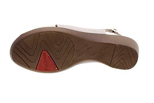 8554 confort amples Piesanto Charol confortables sandale en cuir femme Chaussure Visón qXw5AxZH