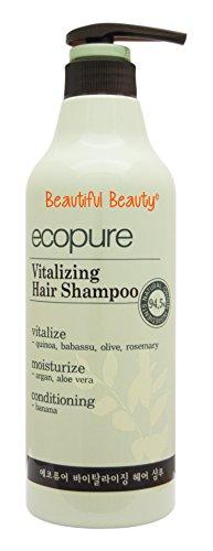 Ecopure Healthy - ECOPURE VITALIZING HAIR SHAMPOO 700ml - NATURAL ORIGIN INGREDIENTS 94.5%