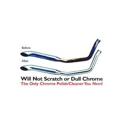 Blue Job Chrome Exhaust Polish (Removes Exhaust Pipe Bluing) - 14g Tub