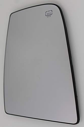 Spieg - Heated FITS Ford Transit 150 250 350 Passenger Side Upper Mirror Glass w/Backing Plate Right 2015 2016 2017 - CK4Z17K707B