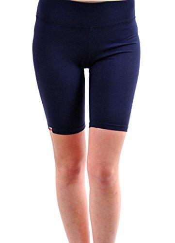 Wildfox Frauen Basis-Fox Biker Shorts elastisches dünnes Bein Oxford Größe S
